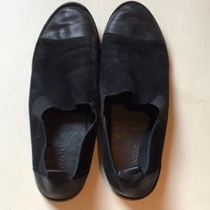 🌷VINCE BLACK SUEDE AND LEATHER SIZE 8.5